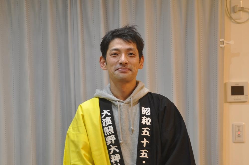 大浜熊野大神社 申酉朋友会 会長 杉浦正平さん
